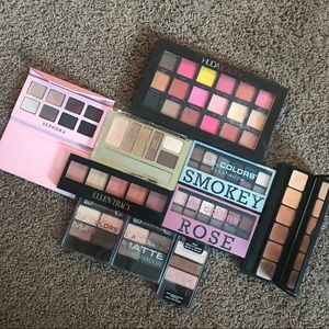 Drugstore eyeshadow palette bundle